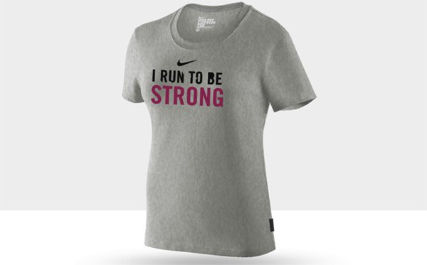 Mon NikeID Dry Fit Running T-Shirt Femme