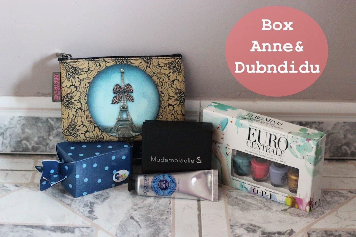 Concours : Box Anne&Dubndidu #23
