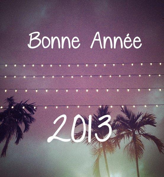 Bonne Année 2013 ;)