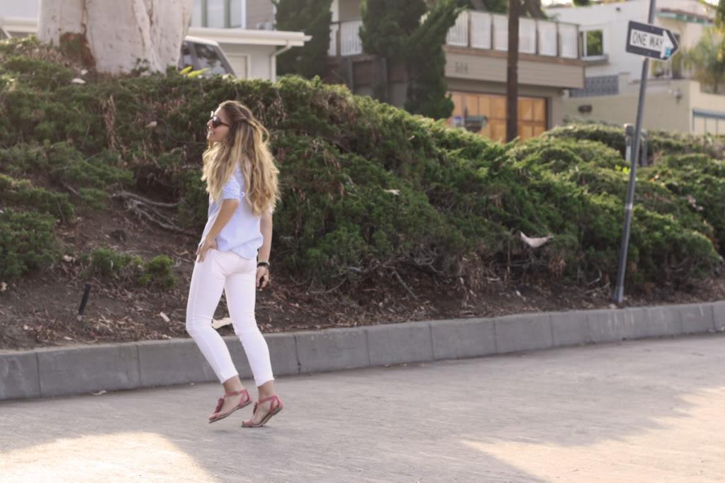 Jeans Blanc F21