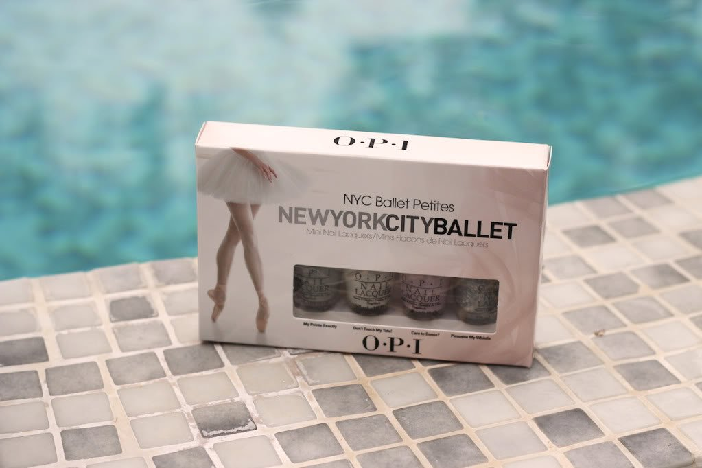 NYC Ballet, Mini OPI #17 Concours