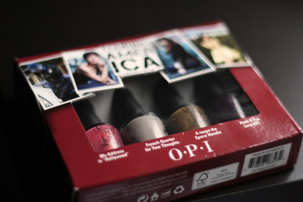 OPI Touring America, Giveaway #8 CLOS