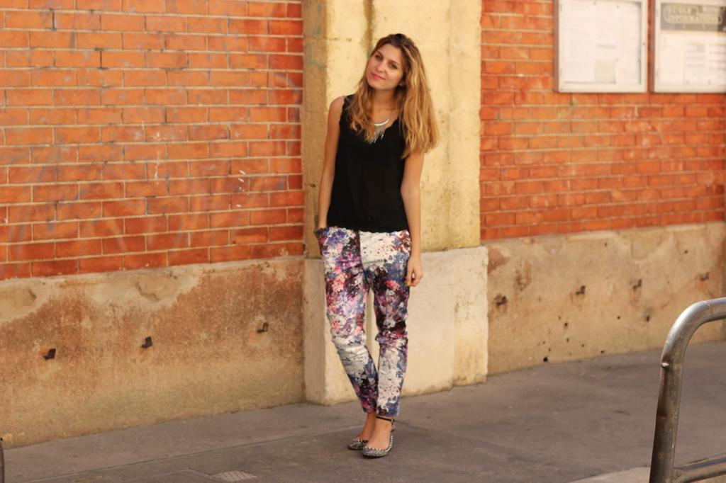 Pantalon Impression Motif H&M