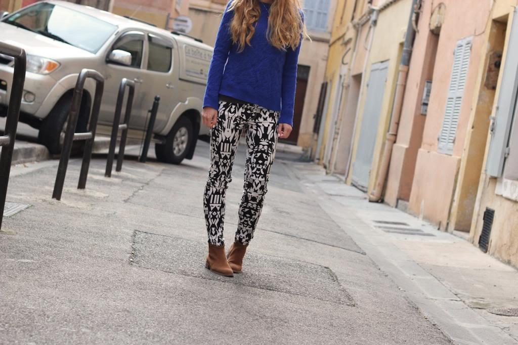 Pantalon H&M Imprimé IKAT