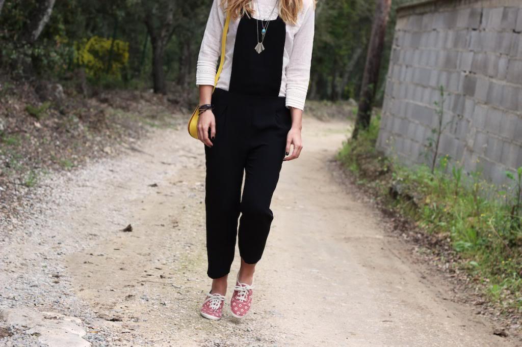Salopette Zara Blouse H&M
