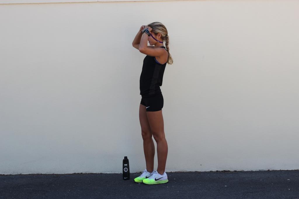 coiffure course à pieds conseils cheveux running fitness training sport  femme e735390924a6