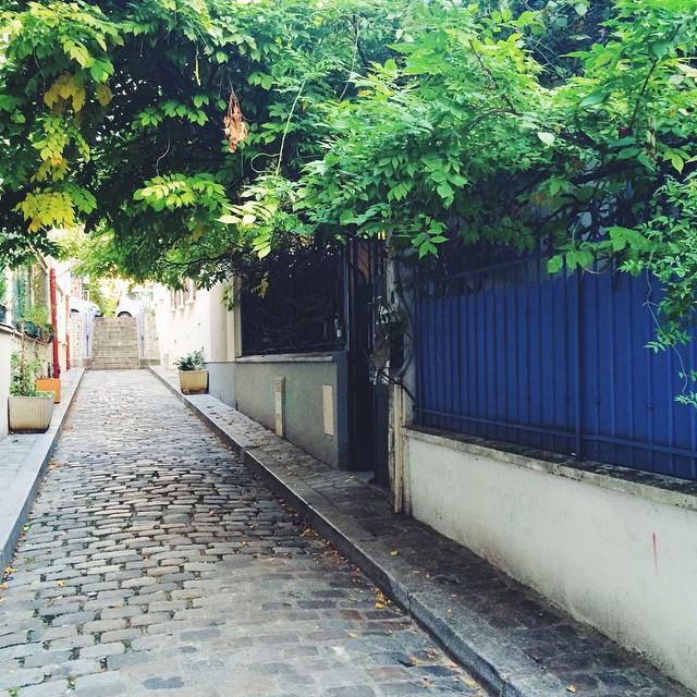 Découvrir son quartier au fur et à mesure des passages surprises ??☀️ #paris #20e #tourist #street #passage #france