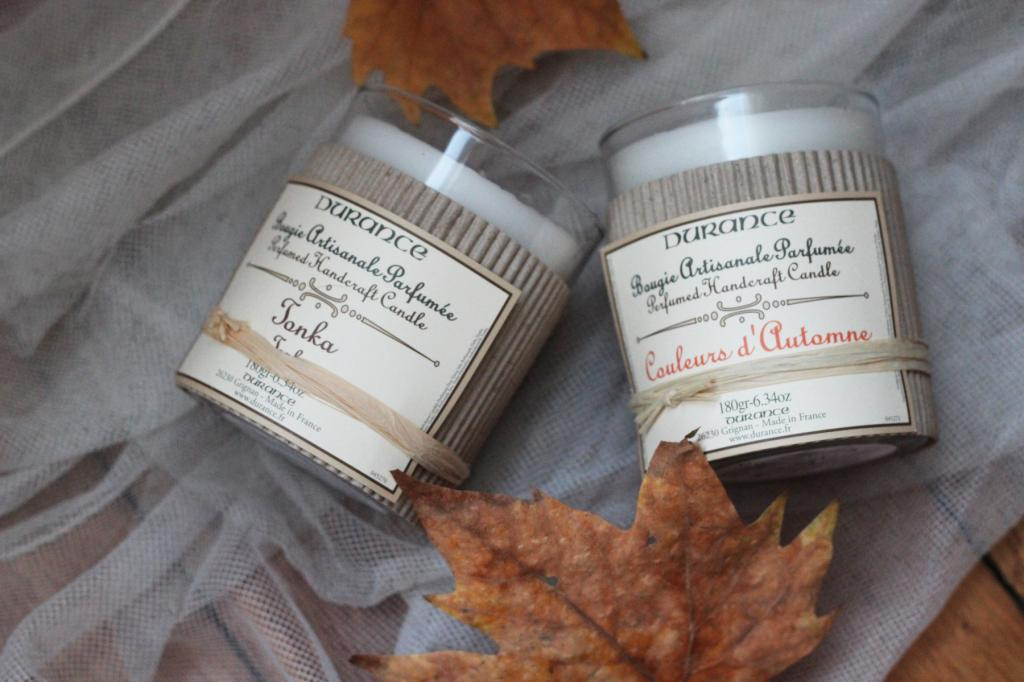Bougies d'Automne : Durance et Bath and Body Works #43