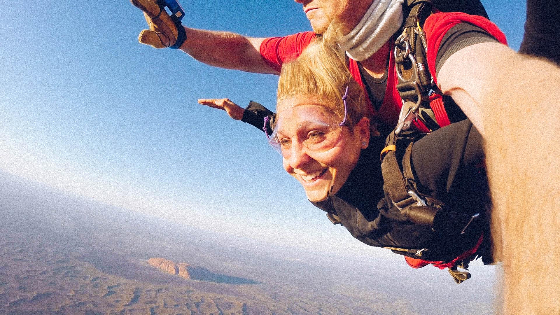 Retour sur Mon Premier Saut en Parachute
