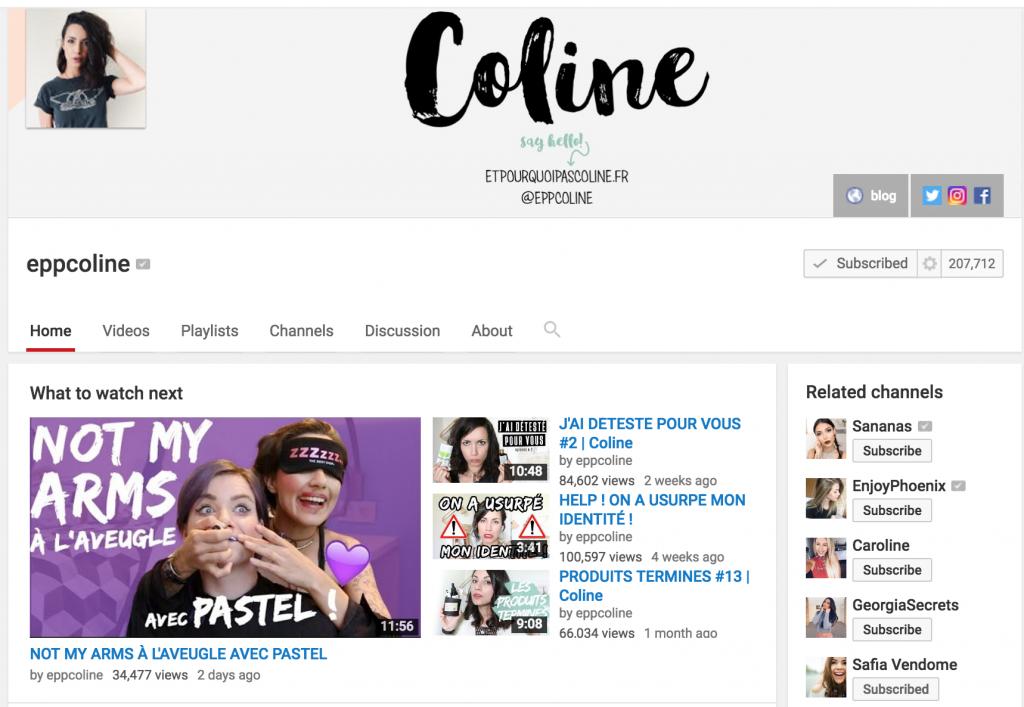 youtubelikecoline