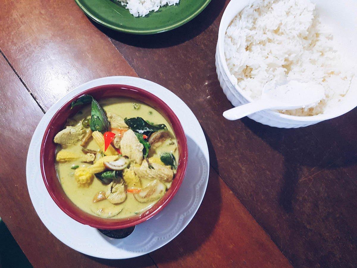 Recette Thaï: Comment Préparer Votre Green Curry (option Végétarien)?