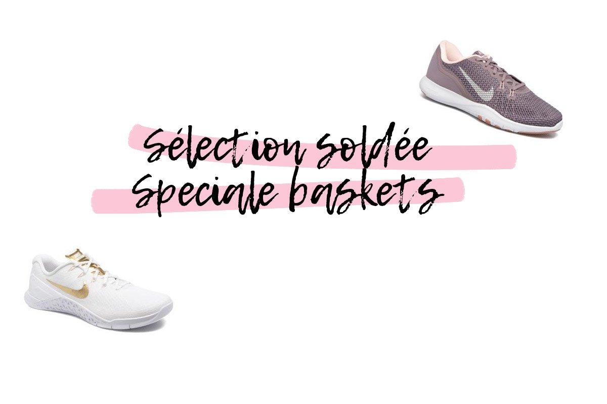 Soldes Hiver 2018: Sélection Spéciale Baskets