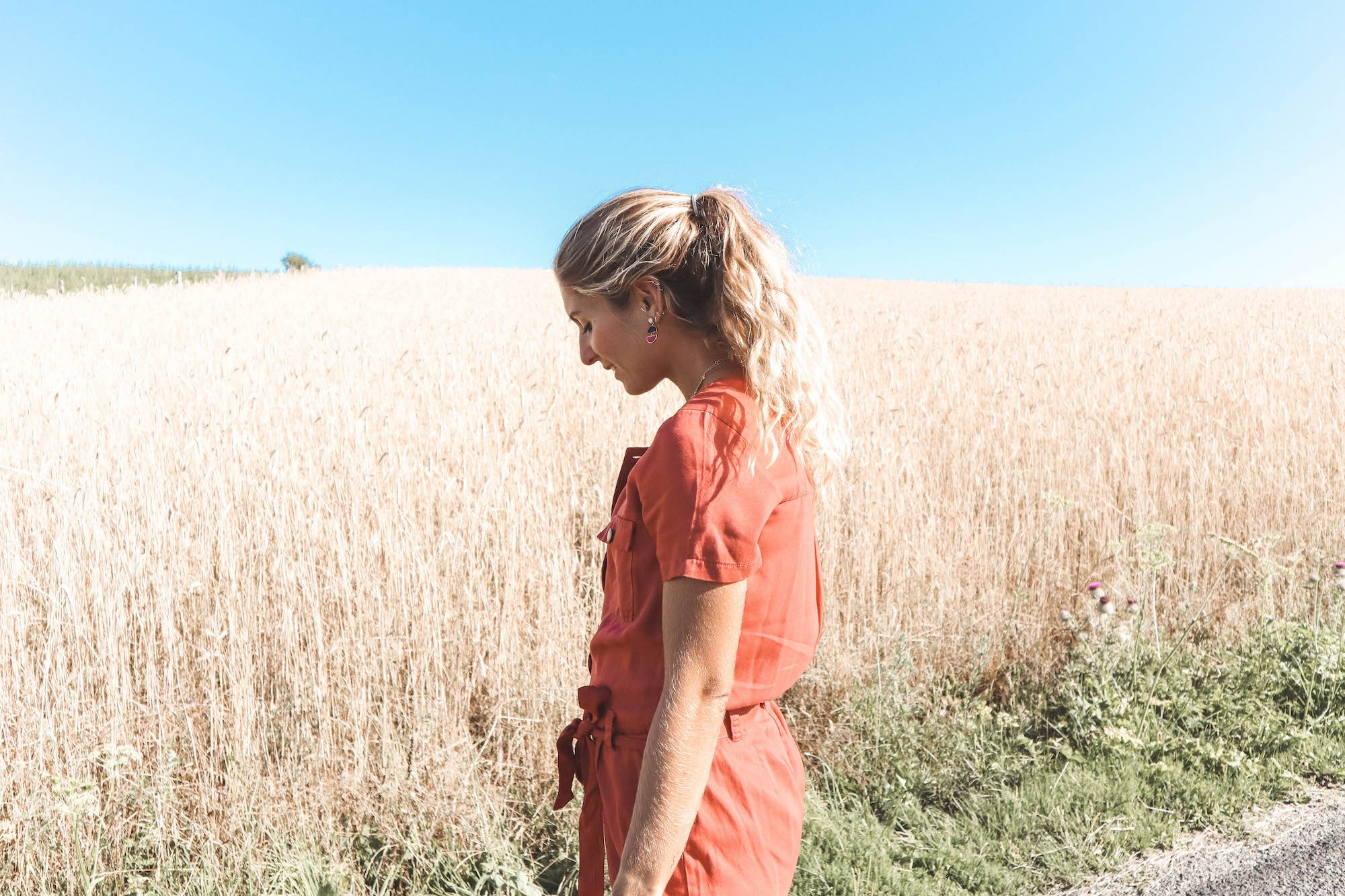 Dans les blés #838