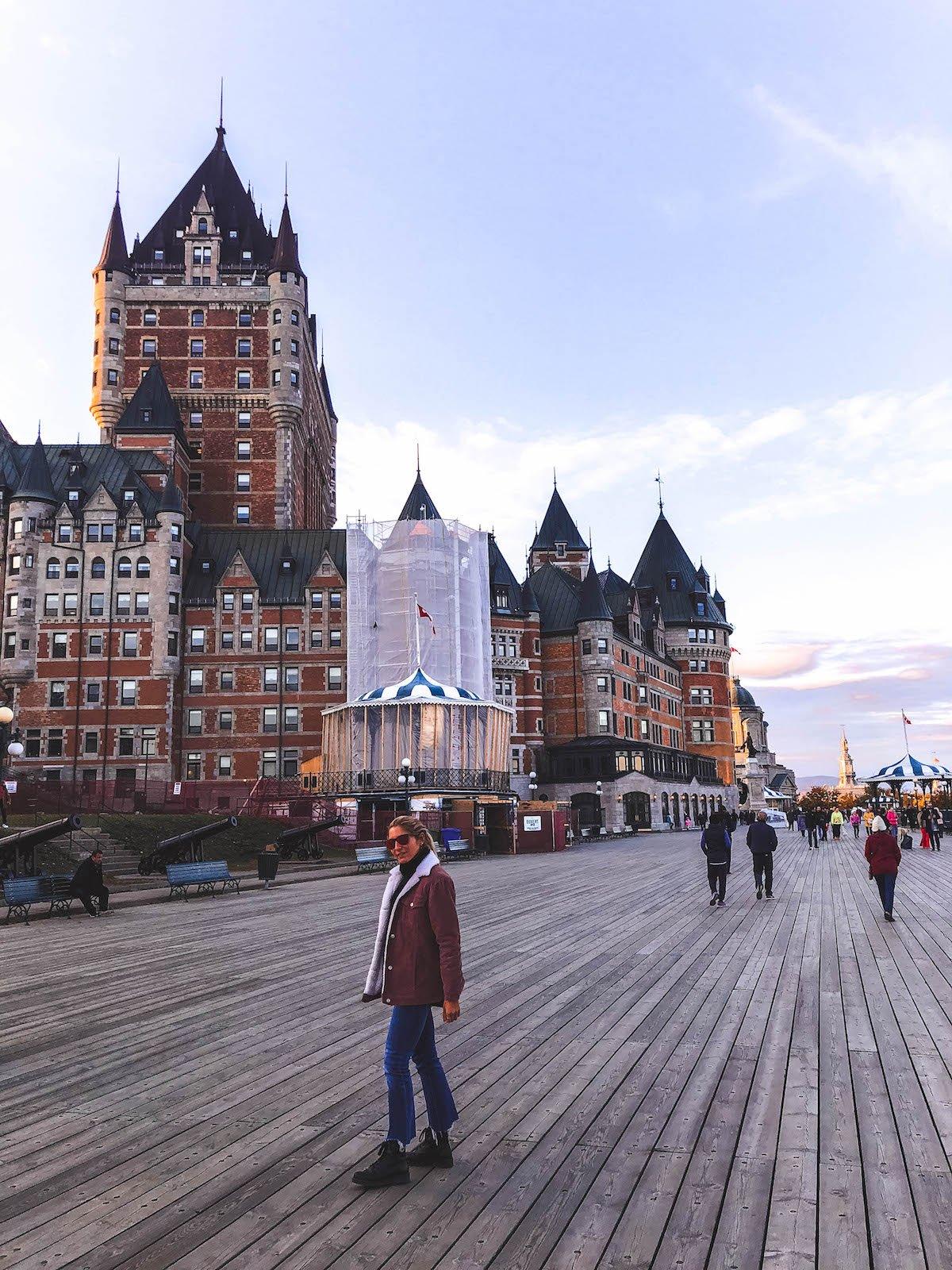 L'Automne au Québec: Autour de la ville de Québec, Île d'Orleans... 2/2