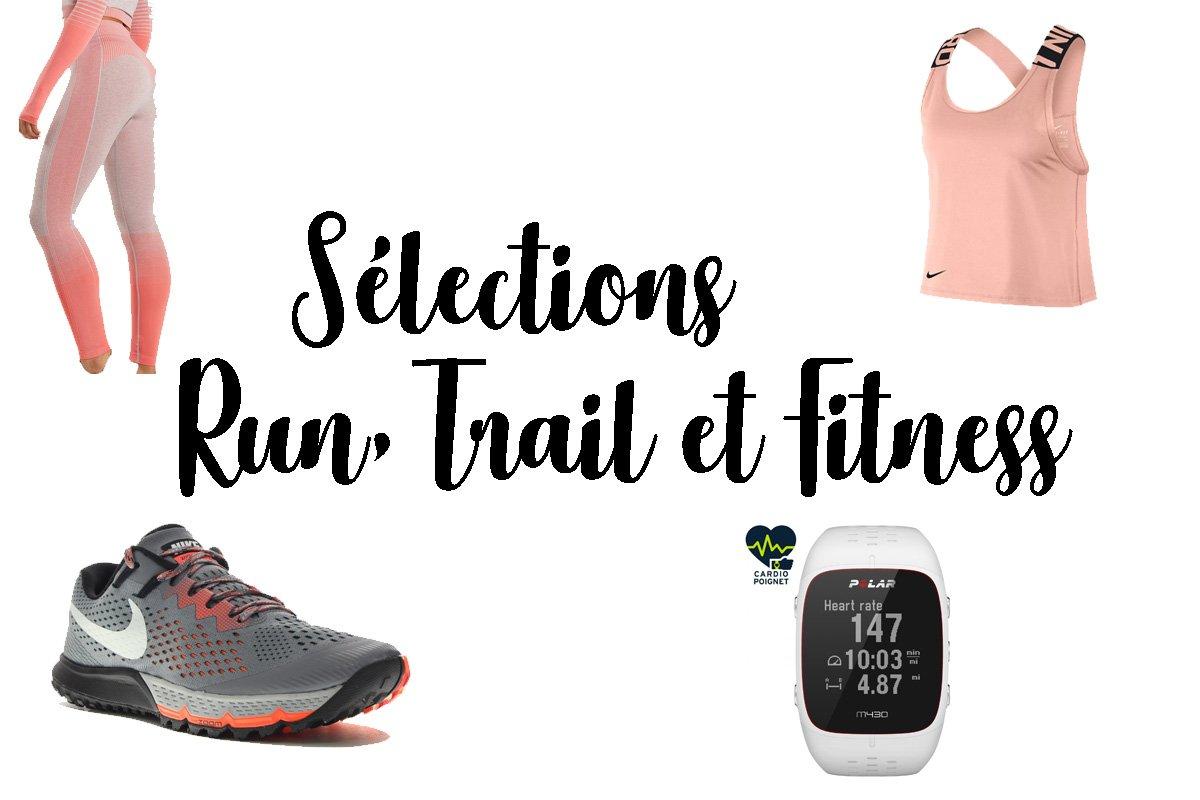 BLACK WEEK: Sélection Running, Trail et Fitness