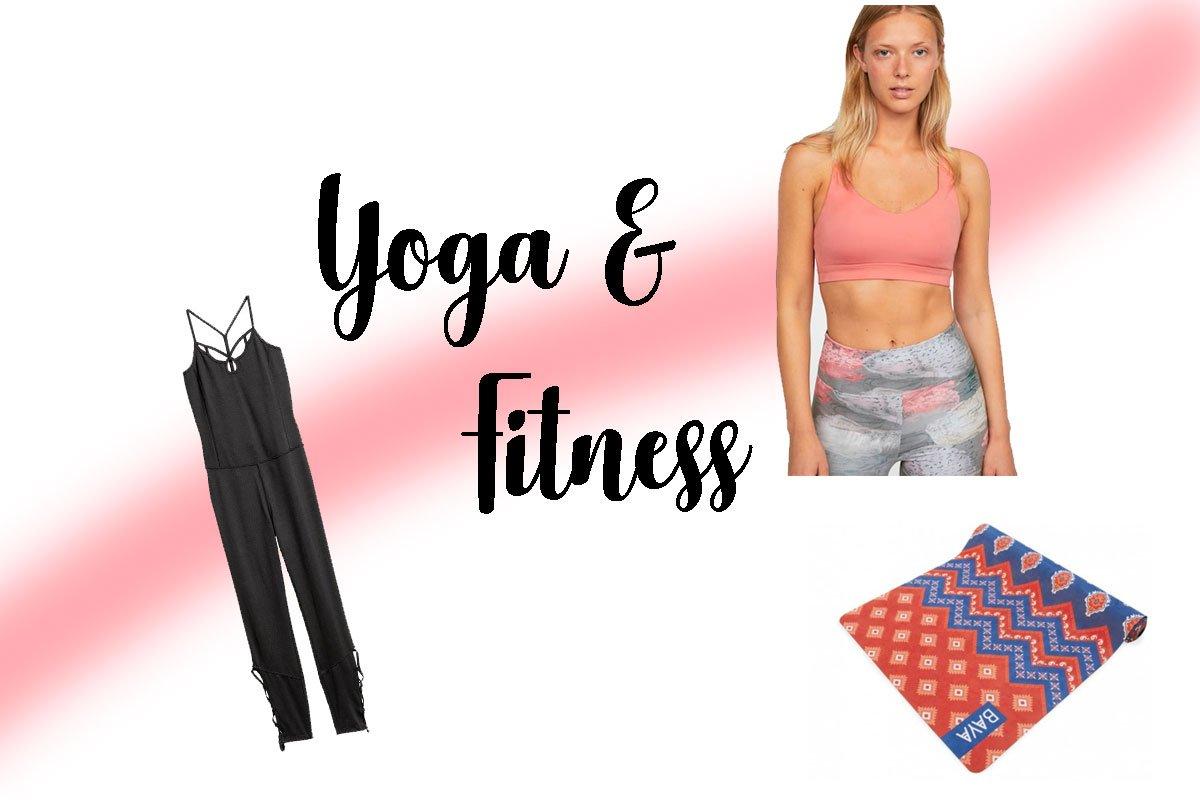 Soldes d'Hiver : Sélections Yoga / Fitness