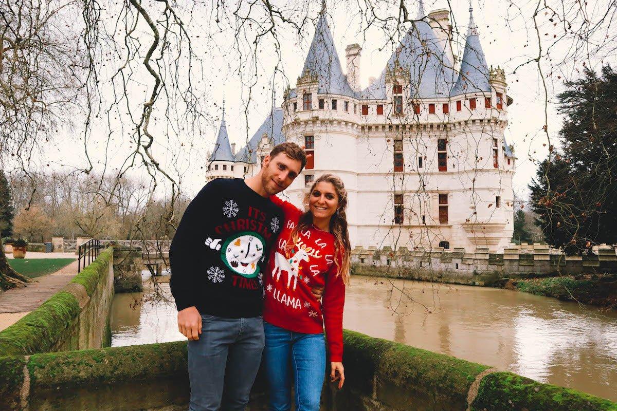 Weekend Prolongé aux Châteaux de la Loire, en mode Noël (+ Vlog)