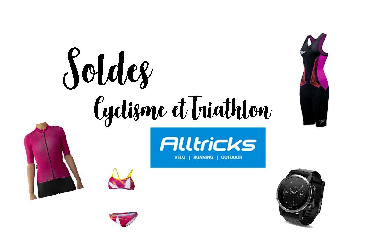Sélections Soldées Alltricks : Triathlon et Cyclisme