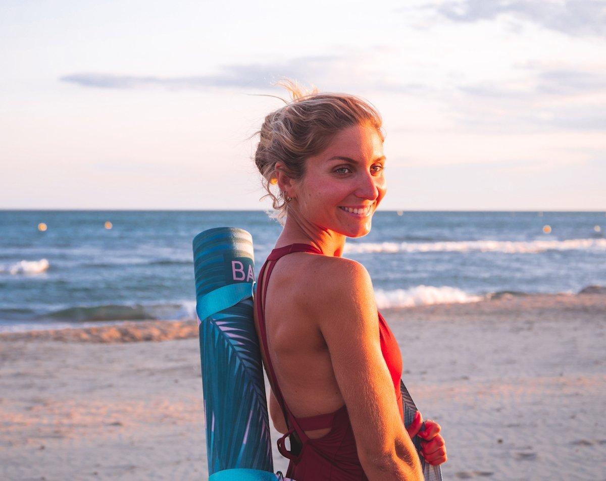 """Baya x Anne Dubndidu: Découvrez mon tapis de Yoga """"Los Angeles"""""""