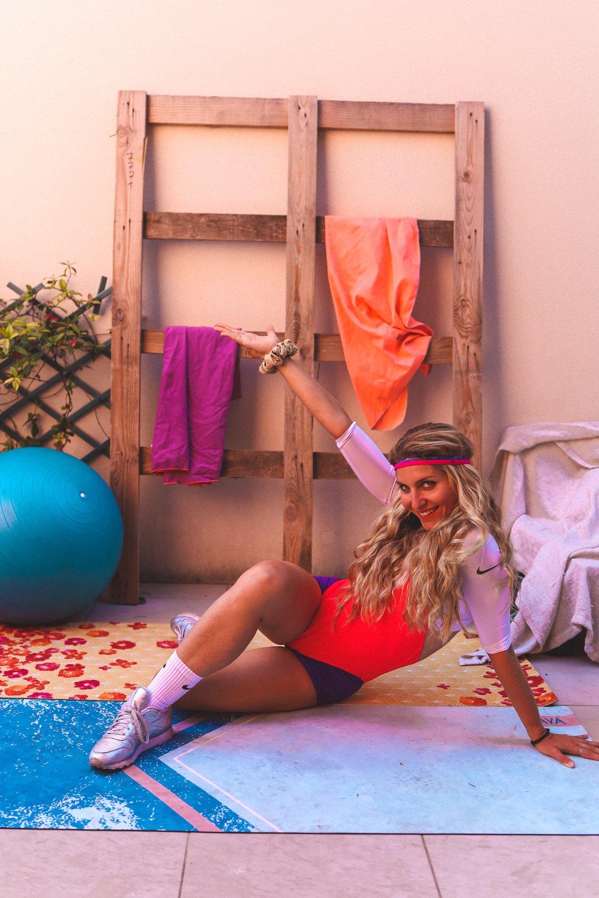 Challenge Fitness à la maison 2: #DubndiduRetro Tout le corps Années 80