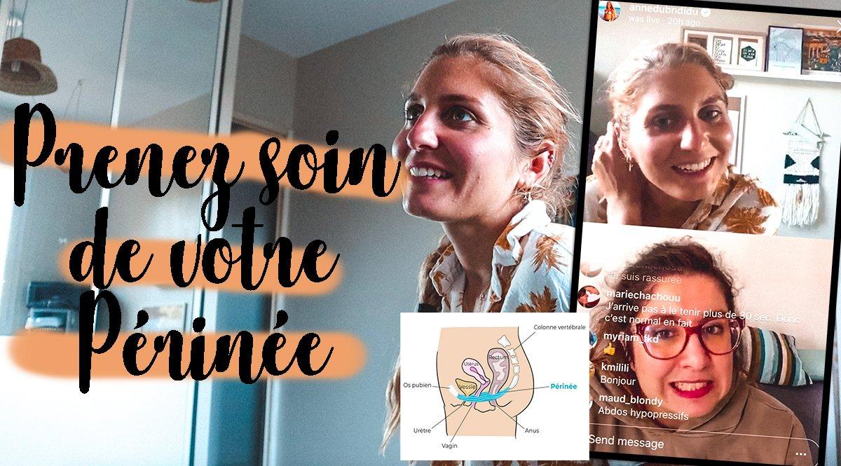 Prenez soin de votre périnée ! Interview avec Sabrina, @PrincessePérinée