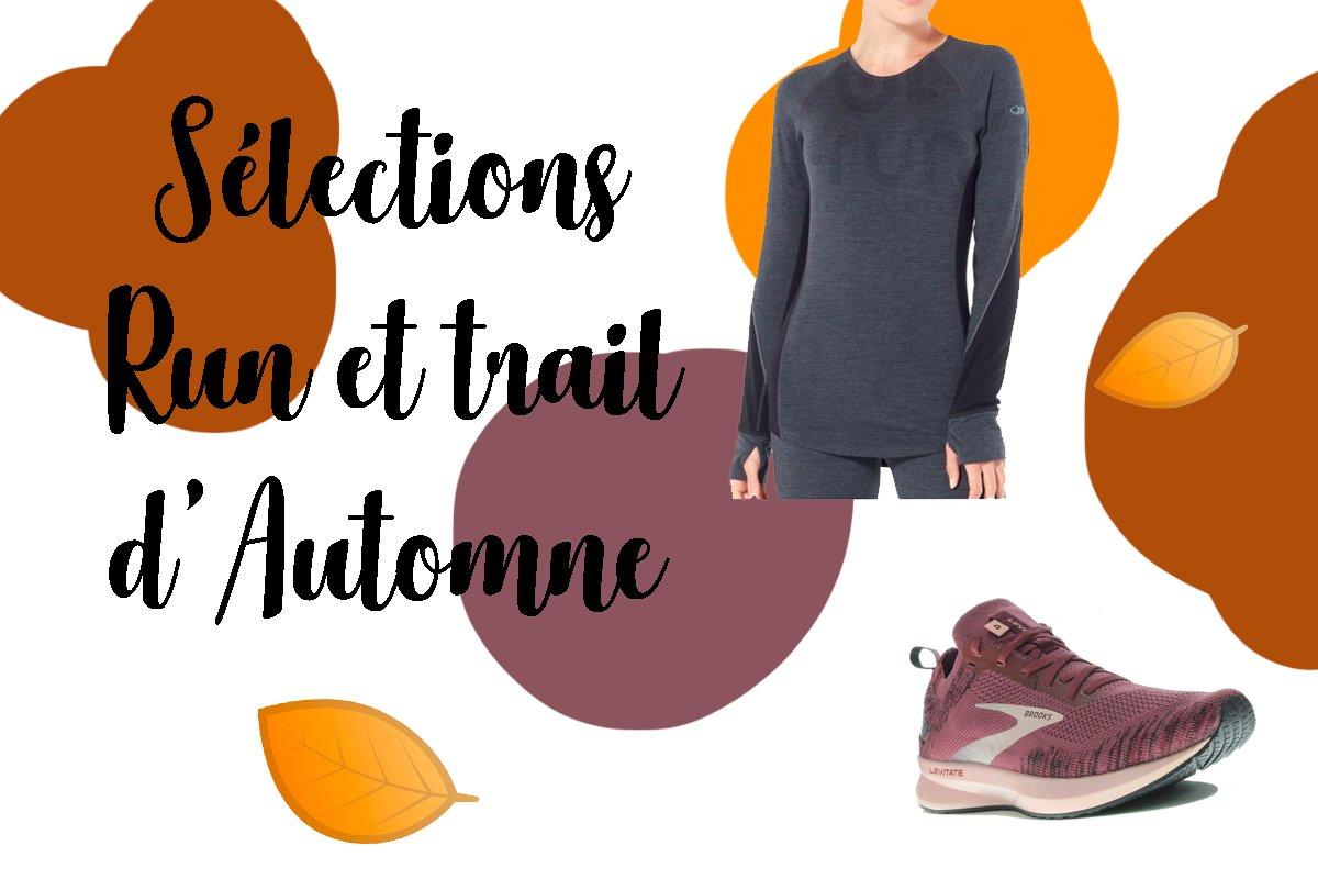 Selections Trail et Running Spéciales Automne sur I-RUN