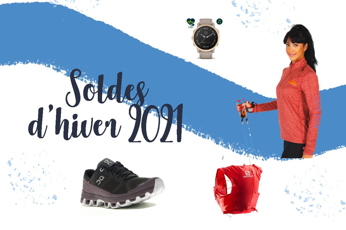 Sélections soldes Hiver 2021 sur I-run.fr : Trail, Running...