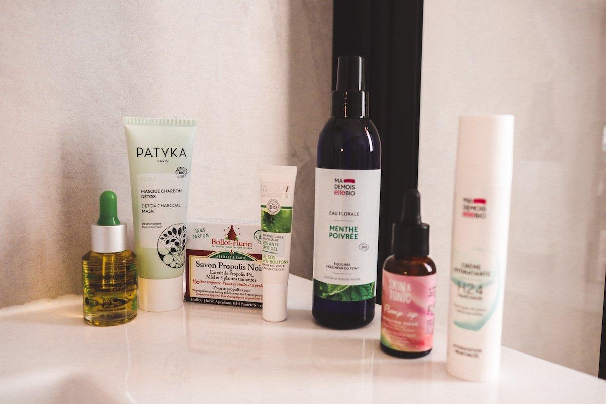 Beauté: Mes 7 produits favoris (et bio) pour lutter contre l'acné d'adulte