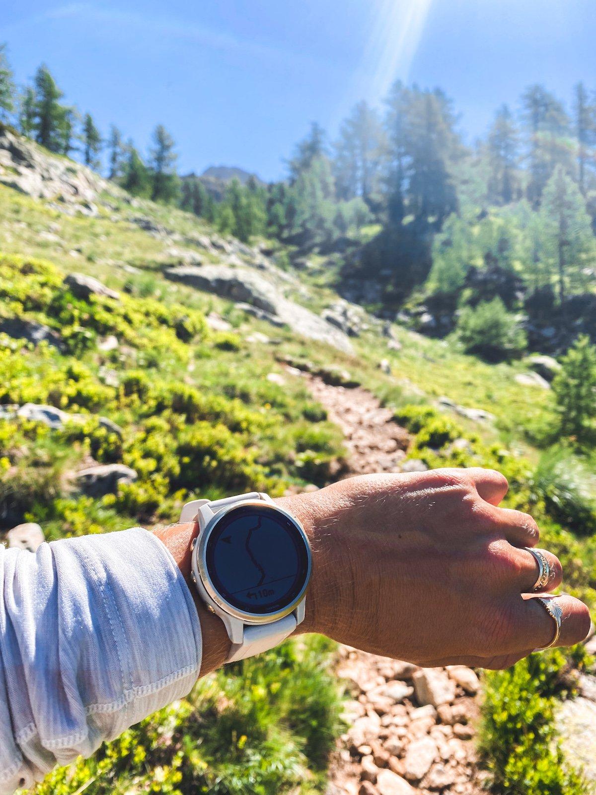 Tuto: Créer et Suivre un Itinéraire Rando, Running ou Trail sur sa montre Garmin