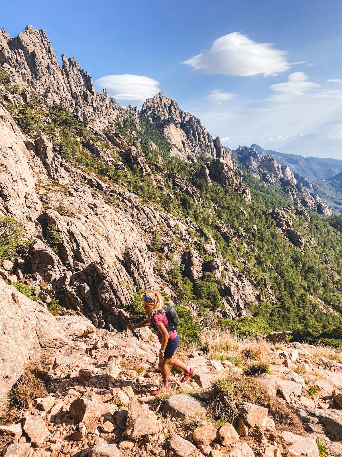 Randonnée: Tour des Aiguilles de Bavella : 11,5km / 780m de D+ (Corse)